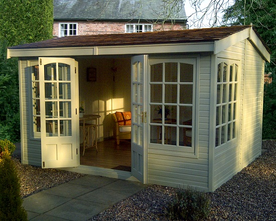 12' x 10' Astwood with georgian windows and doors