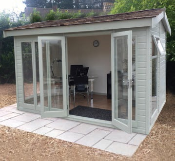 Garden Sheds And Summerhouses malvern collection of garden offices, garden rooms, garden studios